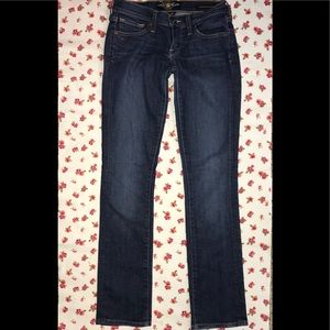 """Lucky Brand """"Charlie Straight"""" ankle jean. VGUC!"""